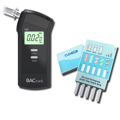 NIDA-5 Drug Test and Breathalyzer